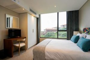 Zimbali Suite 205 two bedroom vacation apartment rental close to ballito