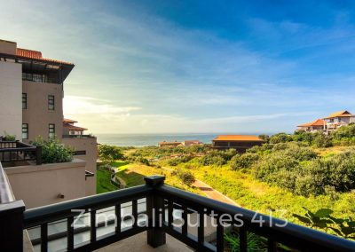 Zimbali Suite 413 one bedroom holiday apartment rental close to Ballito