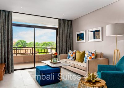 Zimbali Suite 413 two person vacation apartment rental close to Ballito