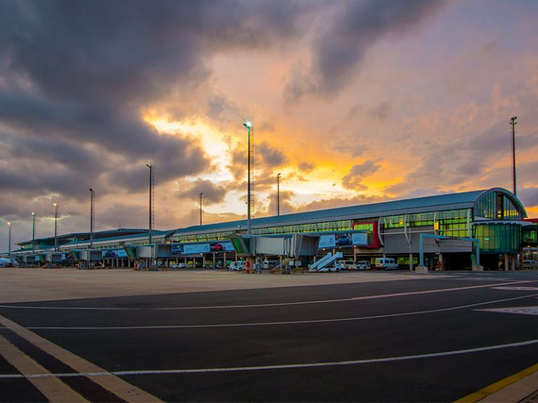 King Shaka international airport close to Zimbali Suites
